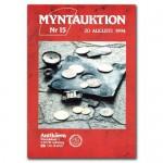Antikören Myntauktion 15. (1.356 utrop, 84 sidor). - Pris 100 kr + porto.