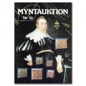 Antikören Myntauktion 16. (863 utrop, 100 sidor). - Pris 250 kr + porto.