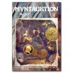 Antikören Myntauktion 20. (892 utrop, 68 sidor). - Pris 100 kr + porto.