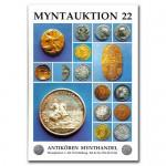 Antikören Myntauktion 22. (966 utrop, 80 sidor). - Pris 100 kr + porto.