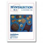 Antikören Myntauktion 2. (1.125 utrop, 64 sidor). - Pris 100 kr + porto.