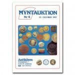 Antikören Myntauktion 4. (1.283 utrop, 84 sidor). - Pris 75 kr + porto.