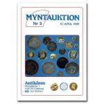 Antikören Myntauktion 5. (1.150 utrop, 80 sidor). - Pris 75 kr + porto.