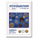 Antikören Myntauktion 6. (1.074 utrop, 88 sidor). - Pris 100 kr + porto.