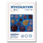Antikören Myntauktion 7. (1.335 utrop, 108 sidor). - Pris 250 kr + porto.