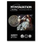 Antikören Myntauktion 9½. (622 utrop, 84 sidor). - Pris 75 kr + porto.