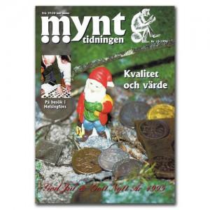 Mynttidningen 10-1994, 36 sidor - Pris 49 kr + porto