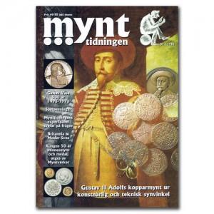 Mynttidningen 1-1996, 36 sidor - Pris 49 kr + porto