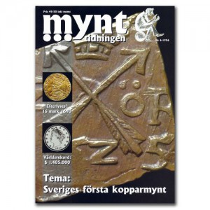 Mynttidningen 4-1996, 36 sidor - Pris 49 kr + porto